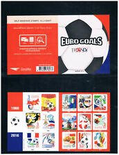 THAILAND 2016 EURO Goals Trendy Booklet (Self-adhisive)