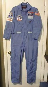 Vintage USA 80's Nasa Space Camp Alabama Flying Suit  MEDIUM