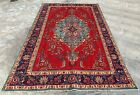 Authentic Hand Knotted Vintage Tabreez Wool Area Rug 10 x 6 FT (20017 HMN)