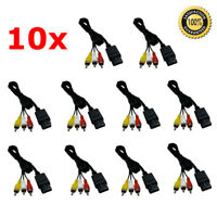 10x Nintendo 64 N64 Gamecube Super SNES AV Audio Video Composite Cable Wholesale