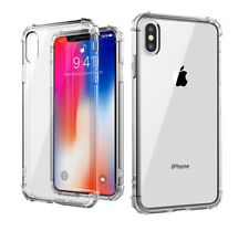For iPhone 11 Pro Case ShockProof Crystal Clear Soft Silicone Bumper Cover Slim