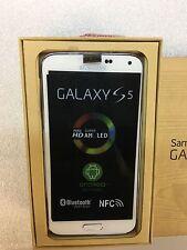 New Unlocked Samsung Galaxy S5 SM-G900V 16GB White Verizon Straight talk