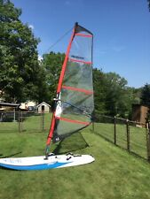 Starboard Rio 10M Windsurfing Board with Chinook Power Glide 4.7 Sail &  Acces