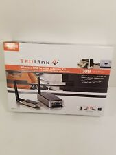 TRULINK WIRELESS USB TO VGA ADAPTER KIT 1600×1200 RESOLUTION 30FT SIGNAL...