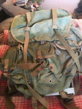 US Army OD Large ALICE Combat Field Pack with Frame, Straps, Belt