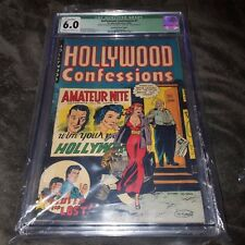 Hollywood Confessions #1, CGC 6.0, Rare Error, Printed w/Wrong Interior, Baker