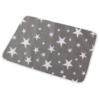 Waterproof Baby Diaper Changing Mat Travel Home Soft Change Pad Portable Grey AU