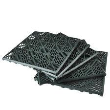 5x vialetto da giardino Pavimento Piastrella PRATO pavimentazione in plastica Griglia Outdoor 30cm quadrato FAI DA TE NUOVO