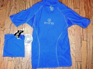 SKINS  Performance Shirt & storage bag Size Medium