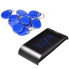Q8W RFID EM Card Reader Door Lock Access Control System Office Security +10 Keys