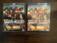 Pirates of the Caribbean On Stranger Tides (Blu-ray/DVD) NO 3D, BONUS OR DIGITAL