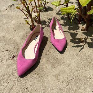 Giorgio Armani Pointed Toe Flats