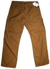 NEW COMME des GARCONS HOMME Men's carpenter Pants Brown Size Large NWT