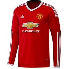 Adidas Manchester United Football Home Children 13-14 years Long Sleeves  Shirt