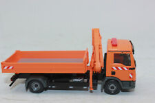 WIKING 067505 Flatbed Truck With Loading Crane Man Tgl 1:87 H0 New IN Boxed