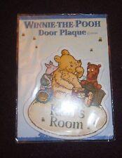 Disney Winnie-the-Pooh KIM'S  Room door plaque BRAND NEW