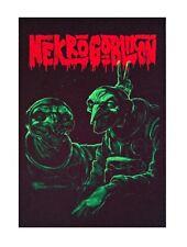 Nekrogoblikon patch DIY printed textile patch rock death power metal trash