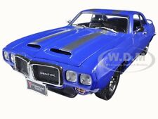 1969 PONTIAC FIREBIRD TRANS AM BLUE 1:18 DIECAST MODEL BY ROAD SIGNATURE 92368