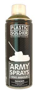 Plastic Soldier Company   British Armor Spray Paint SP004 * New *