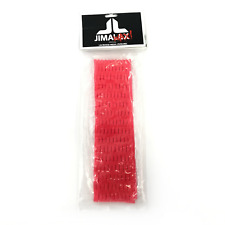 New listing Neon Red Jimalax Jimawax Lacrosse Mesh Evolved #1146