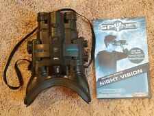JAKKS Pacific Real Tech SPYNET Night Vision Recording Goggles, great condition