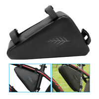 Waterproof Triangle Storage Bag Cycling Bike MTB Bicycle Front Tube Frame Pouch
