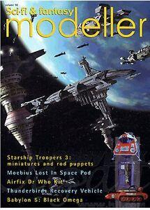 Sci-Fi & Fantasy Modeller #10 - Babylon 5, Doctor Who, Star Wars, Starship Troop