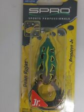 Spro Bronzeye Jr Frog SBEF60NGRN Natural Green