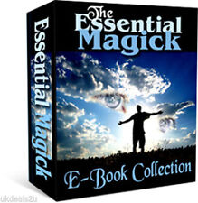 EBOOKS ON MAGICK, SPELLS, WICCA,WHITE MAGIC, TAROT, ASTROLOGY CD g