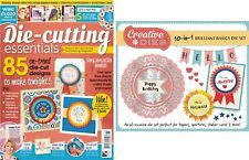 DIE CUTTING ESSENTIALS MAGAZINE ISSUE 11 FREE 10 in 1 DIE 85 DESIGNS TO MAKE