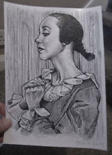 CLASSIC FANTASY MUSICALS ,SHELLEY DUVALL AS OLIVE  OIL IN POPEYE , ORIGINAL ART