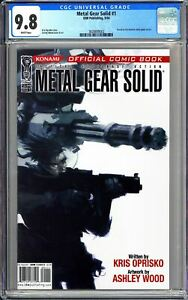 Metal Gear Solid #1 CGC 9.8 WP 2004 3828809002 Konami Video Game! MOVIE Soon!