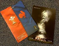 Wales v France Six Nations Programme 22/2/20!!! LAST FEW!!!