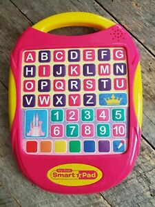 Disney Princess My First Smart Pad Educational Letters Numbers Colors Music