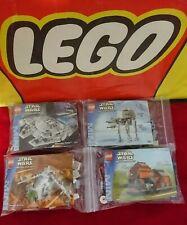 "LEGO ""STAR WARS"" Mini Build Sets Millennium Falcon AT-AT Gunship MTT 4488/9/90/1"