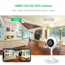 1080P HD WIFI IP Kamera Smart WIFI Überwachungskamera Webcam Funk IR Nachtsicht