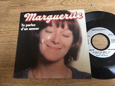 45 tours MARGUERITE Tu parles d'un amour Je suis une femme qui s'ennuie 1982