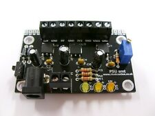 Quad Output SMT Breadboard Power Supply PSU with LD1117V33, 7805 and LM317T