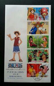 Japan Animation 2011 Cartoon Pirates Manga Comic (FDC) *rare