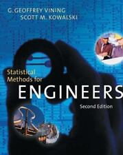 Statistical Methods for Engineers by Kowalski and Vining (2005) Hardcover 2nd Ed