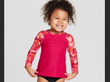 🌸NWT Hunter for Target Floral Rash Guard Baby Girls Size 18M  🌸