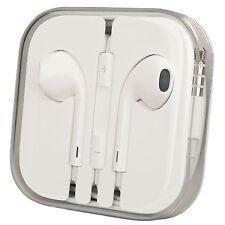 ORIGINALE Cuffie Apple (md827zm/a) EarPods con telecomando microfono &