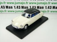 Voiture 1/24 SALVAT Models : CITROEN DS 19 (1956)