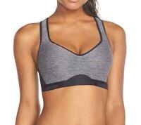 Under Armour StudioLux Sports Bra Grey Women's Size 38D 66331