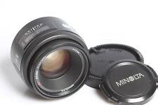 Minolta AF 50mm 1.7  für  minolta Sony