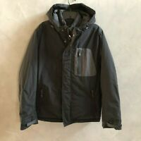 NWT American Eagle AE Men's All Climate Down Lining Parka Jacket Black Sizes S L