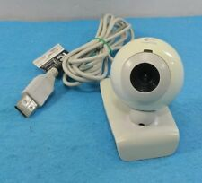 WEBCAM PC LOGITECH V-UAP41 ORIGINAL BLANCA USB MICROFONO LUZ LED VGA