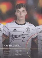 Kai Havertz - original signierte DFB Autogrammkarte - 2020/2021