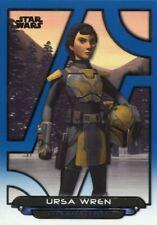 Star Wars Galactic Files 2018 Blue Base Card REB-31 Ursa Wren