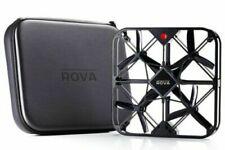 ROVA Flying Selfi Drone w/ 12MP Camera + HD Video Black A10 W/ Case 2 Battaries
